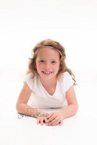 Portretfotografie meisje lachend