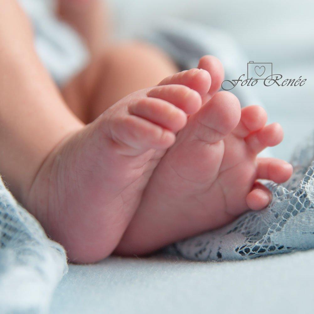 newborn en baby fotografie voetjes