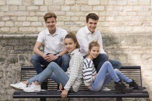 Stadhuis Gouda gezinsfoto
