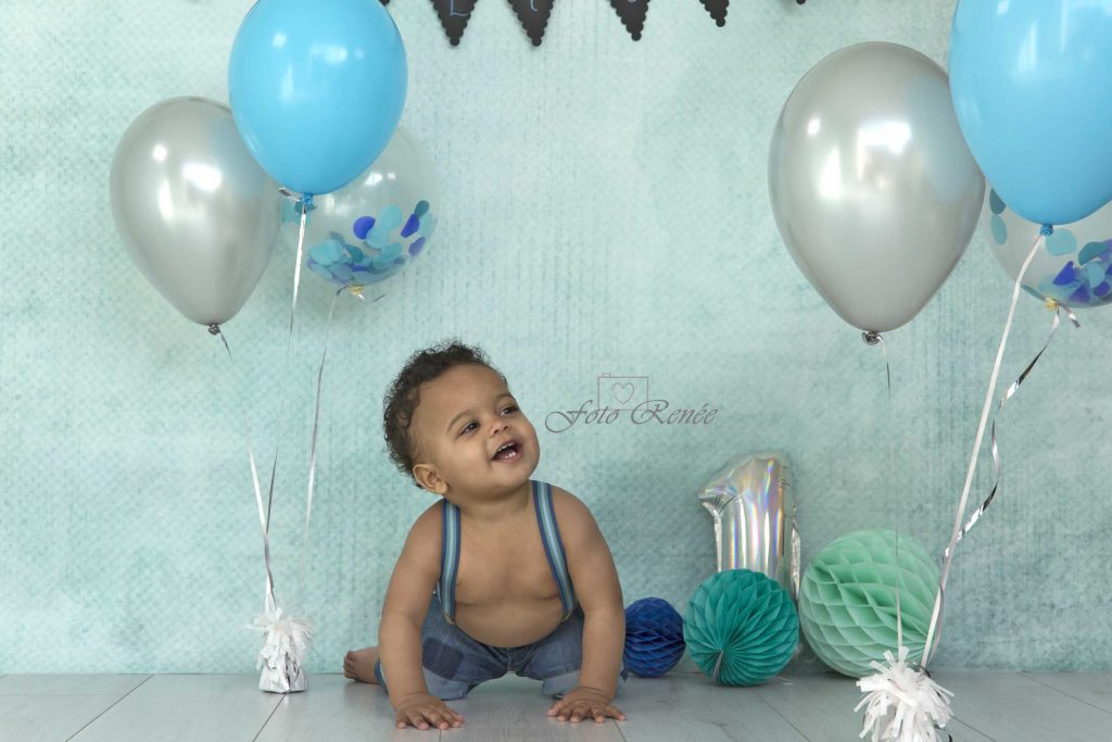 Cakesmash met ballonnen