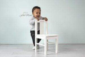 Cakesmash jongen met stoel