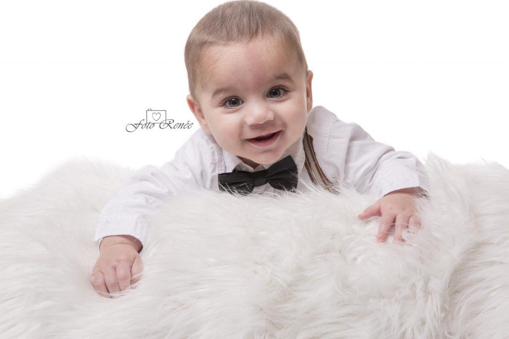 Mini sessies, een schattige baby