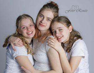 Drie mooie zussen